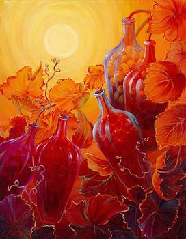 Wine on the Vine II by Sandi Whetzel