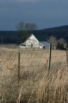 Winter Barn by Corey Haynes