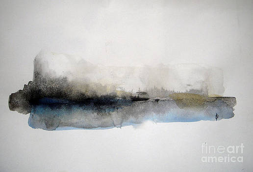 Winter on the Lake by Vesna Antic