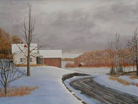 Winter Road by Dale Lewis