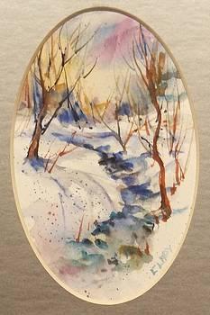 Winter Stream by Mary Ann Clady