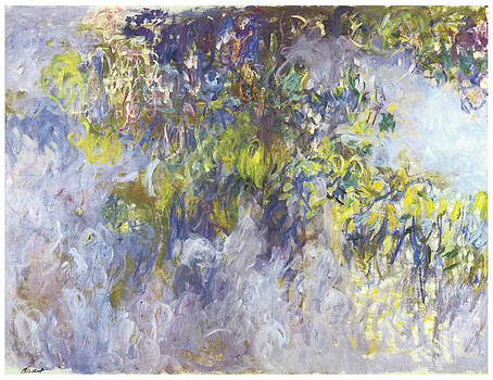 Claude Monet - Wisteria