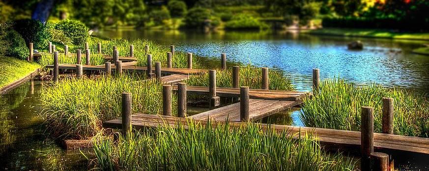 Wood Bridge by Jay Swisher
