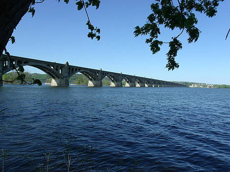 Wrightsville Bridge by Terrilee Walton-Smith