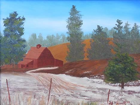 Ye Old Barn by Dorothy Merritt