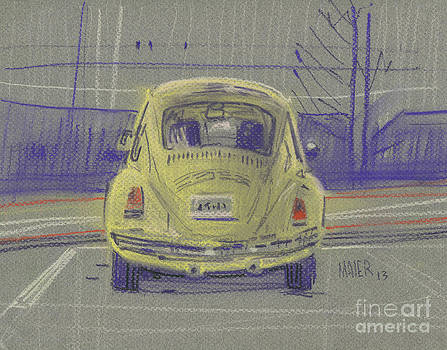 Yellow Beetle by Donald Maier