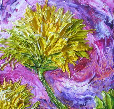 Yellow Mum by Paris Wyatt Llanso