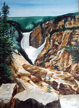 Yellowstone by Ellen Canfield