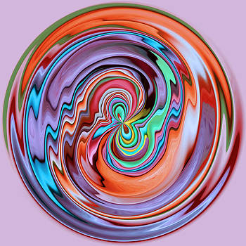 ZigZag Orb by Liz Mackney