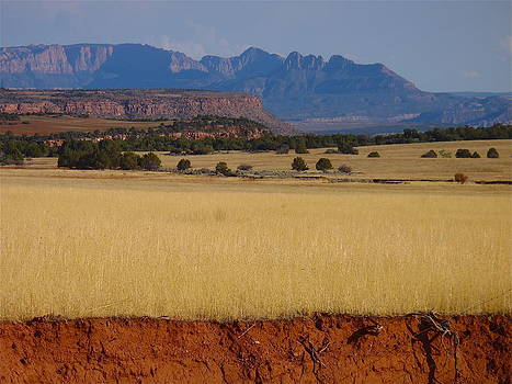 Zion from the west 1 by Rob Michels
