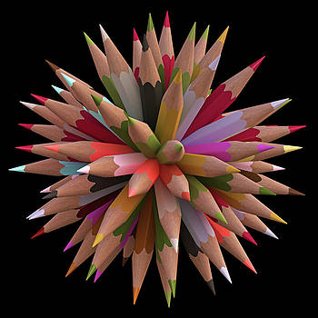 Colouring Pencils by Ktsdesign