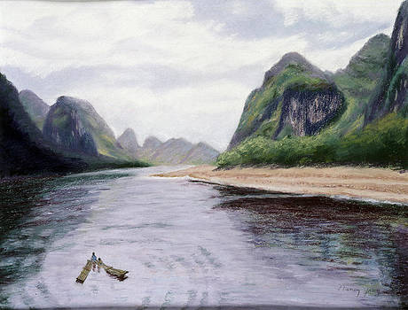 Along the Li River by Nancy Yang