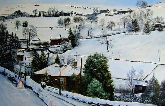Winter  on the moors by Jennifer  Blenkinsopp