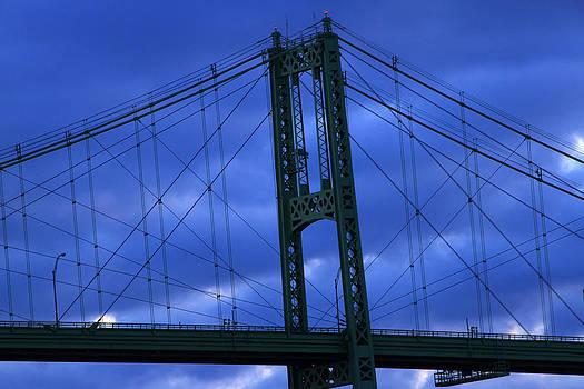 1000 Island Bridge Lines by David Simons