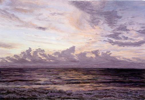 Bali Sunset - II by Nancy Yang