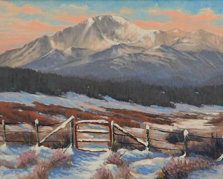 110901-810  Red Gate by Kenneth Shanika