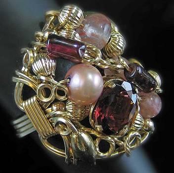 Dianne Brooks - 1174 Bling Bling Cluster Ring