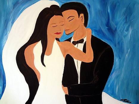Wedding Couple by Carlos Alvarado