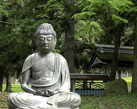 12th Century Bronze Buddha  2010 by Joseph Duba