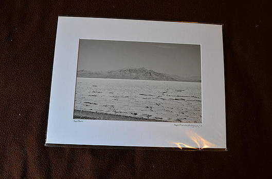 12x16 Matted - Salt Plains by Becky Anders