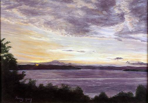 Autumn Horizon by Nancy Yang