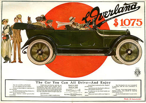 1910s Usa Willys-overland Magazine by The Advertising Archives