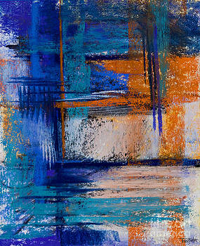 Morning Blues #14 by Tracy L Teeter
