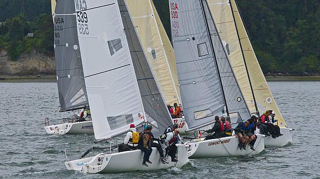 Steven Lapkin - 2014 Whidbey Island Race Week