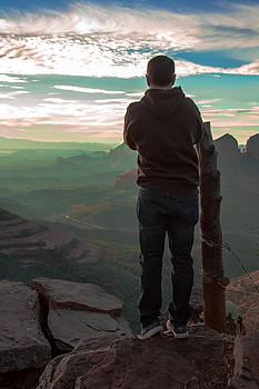 Steven Lapkin - Sedona Sunset