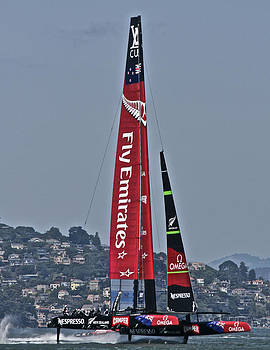 Steven Lapkin - Emirates Team New Zealand