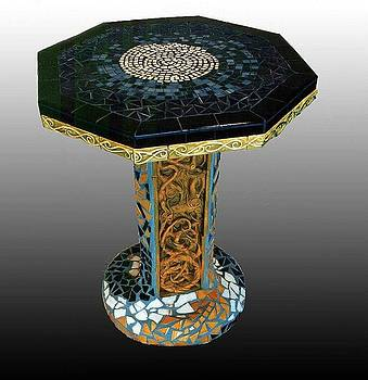 Charles Lucas - Mosaic table