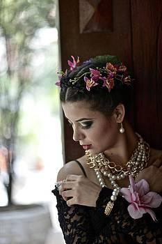 Portrait Of A Latin Woman by Kike Calvo
