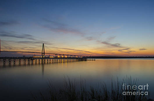 Dale Powell - Ravenel Bridge Peaceful Sunset