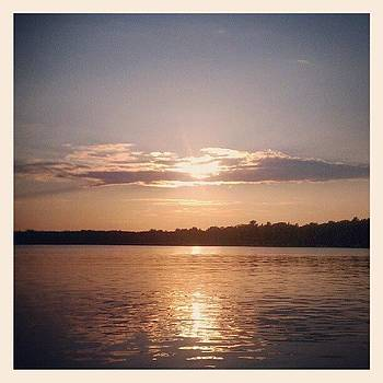 Balsam Lake Sunset by Anne Phillips