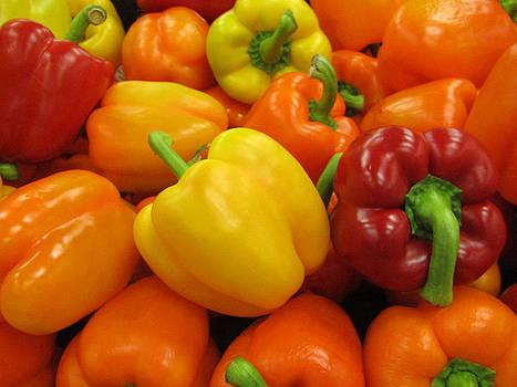 18 Bell Peppers by Lisa Lieberman