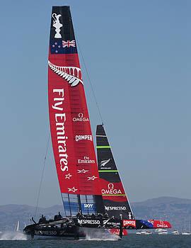 Steven Lapkin - Emirates Team New Zealand