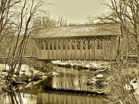 Naturally NH - 1808 Cilleyville Covered Bridge
