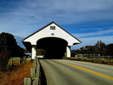 Naturally NH - 1866 Fly Over Smith Covered Bridge