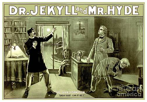 1890 - Dr Jekyll and Mr Hyde Production Poster by John Madison