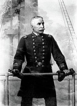 1890s Portrait Admiral George Dewey by Vintage Images