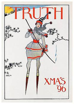 1896 - Truth Magazine - Christmas Issue - Advertisement Poster - Color by John Madison