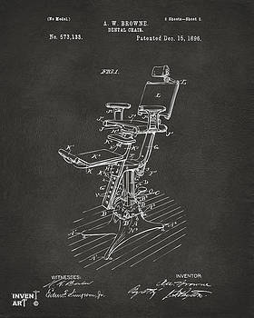 Nikki Marie Smith - 1896 Dental Chair Patent Gray