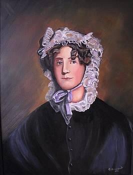 18th Century Woman by Robert Arsenault