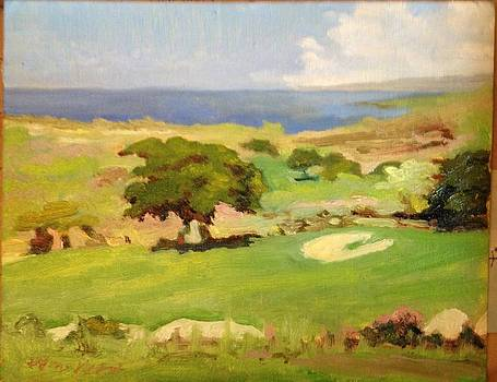 18th Hole Hokulia by William Wingert