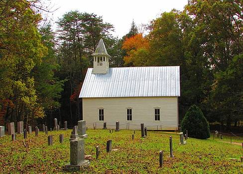 Cade's Cove 1902 Methodist Church by Kathy Long