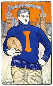 1903 - University of Illinois Football Poster - Color by John Madison