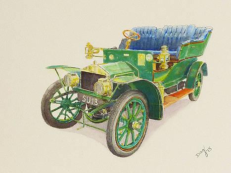 1905 Rolls Royce 10 HP by David Godbolt