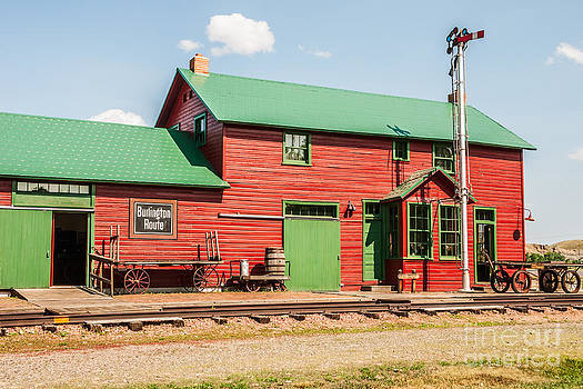 1906 Depot by Sue Smith