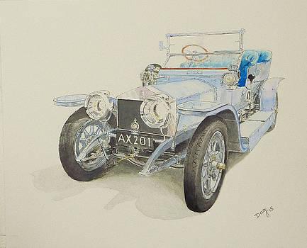 1907 Rolls Royce Silver Ghost by David Godbolt