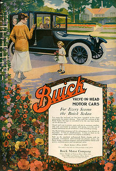 1910s Usa Buick Magazine Advert by The Advertising Archives
